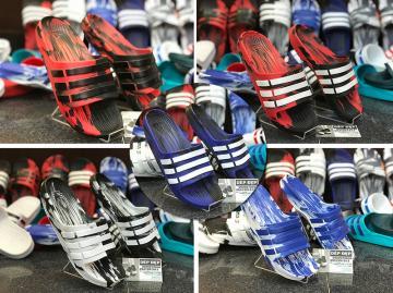 Dép Adidas Duramo đúc loang nhiều màu